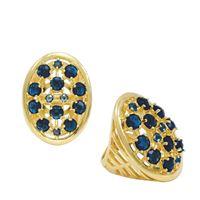 Imagem de Maxi anel pedra natural azul - 0105150