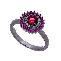 Imagem de Anel com pedra zircônia - 0105443 Pink