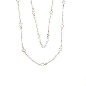 Imagem de Corrente modelo Tiffany com cristais - 0302881