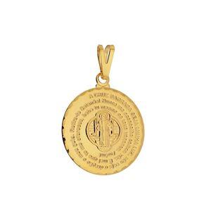 Imagem de Pingente medalha oração São Bento - 0205633