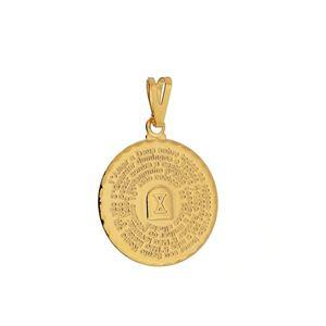 Imagem de Pingente medalha 10 mandamentos - 0205634