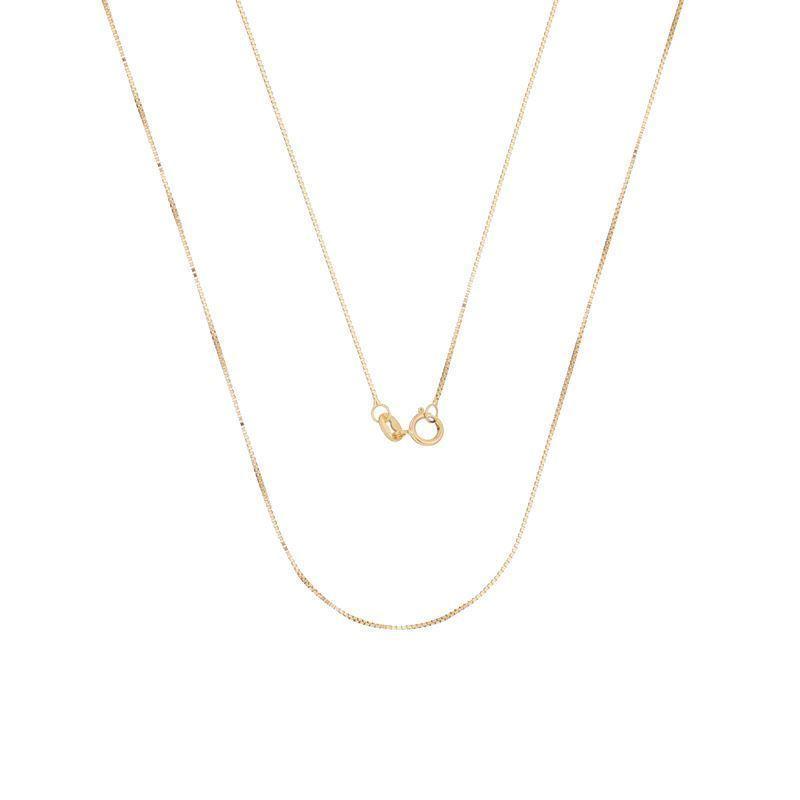 Status Semi Jóias - 35 anos - Corrente Ouro 18k veneziana 45cm - 2000001 c15b8cdefd
