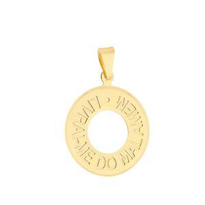 Imagem de Pingente medalha Livrai-me do mal - 0205718
