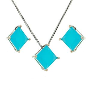 Imagem de Conjunto pedra natural - 1100296 Azul Leitoso