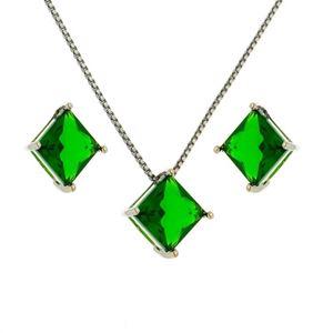 Imagem de Conjunto pedra natural - 1100299 Verde Esmeralda