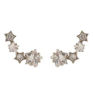 Imagem de Brinco ear cuff com pedras zircônia - 0518876*