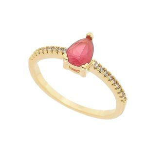 Imagem de Anel pedra gota natural - 0105799 Pink