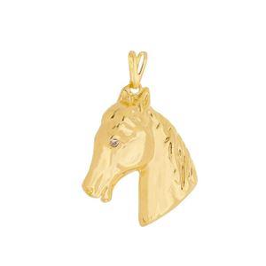 Imagem de Pingente cavalo com pedra strass - 0204959