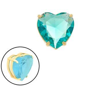 Imagem de Pingente coração pedra natural azul - 0205868