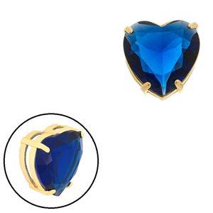 Imagem de Pingente coração pedra natural azul - 0205870
