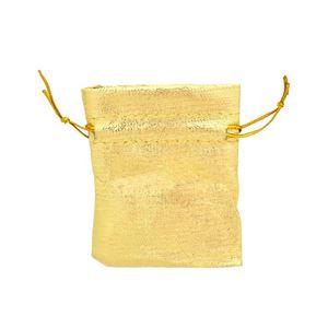 Imagem de Saquinho pequeno tecido dourado - 0600047