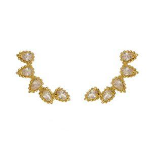 Imagem de Brinco ear cuff com pedra zircônia - 0519201