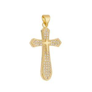Imagem de Pingente cruz com pedra zircônia - 0205891