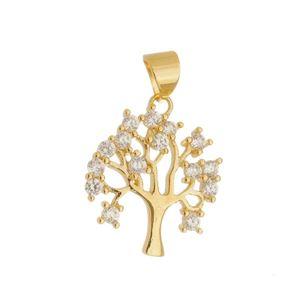 Imagem de Pingente árvore da vida com zircônia- 0205895