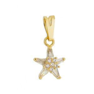 Imagem de Pingente estrela com pedras zircônia - 0205905
