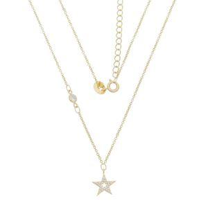 Imagem de Corrente estrela pedras zircônia - 0303688