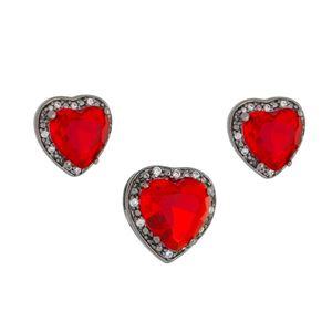 Imagem de Conjunto coração pedra natural - 1100547#