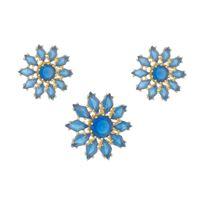 Imagem de Conjunto flor pedra natural - 1100538