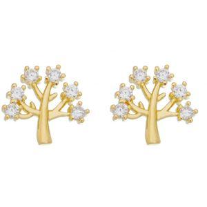 Imagem de Brinco árvore da vida pedras zircônia - 0520282