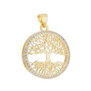Imagem de Pingente árvore da vida pedras zircônia - 0206164