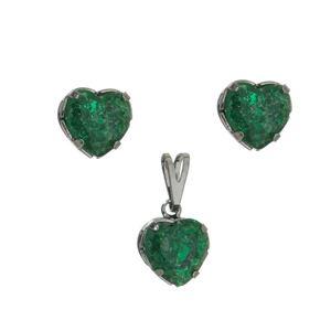 Imagem de Conjunto coração fusion verde - 1100420#