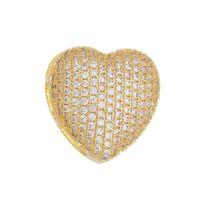 Imagem de Pingente coração com pedras zircônia - 0206248