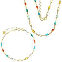 Imagem de Conjunto com pedras colorido - 1100566