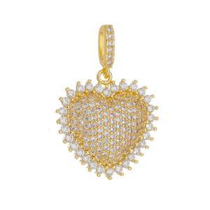 Imagem de Pingente coração com pedras zircônia - 0206262