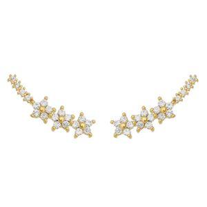 Imagem de Brinco ear cuff estrelas com zircônia - 0520433