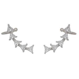 Imagem de Brinco ear cuff pedras zircônia - 0520643*