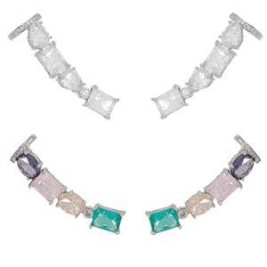 Imagem de Brinco ear cuff pedras fusion - 0520670* Várias Cores