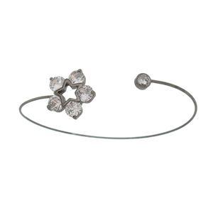 Imagem de Bracelete estrela e pedras zircônia - 0404610#
