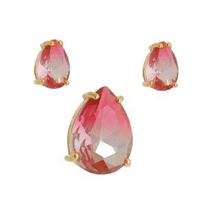 Imagem de Conjunto gota bicolor rosa - 1100592