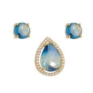 Imagem de Conjunto gota bicolor azul - 1100613