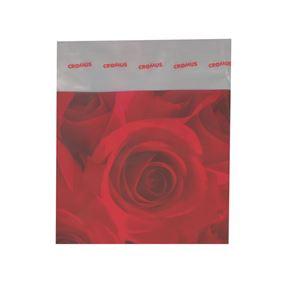 Imagem de Saquinho presente flores vermelhas - 0600066