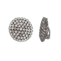 Imagem de Brinco de pressão com pedras strass - 0521078#