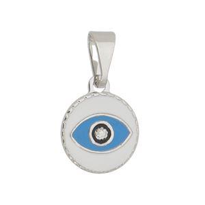 Imagem de Pingente olho grego resinado - 0206424