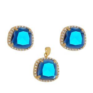 Imagem de Conjunto pedra natural azul - 1100660