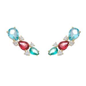 Imagem de Brinco ear cuff pedras natural - 0521232
