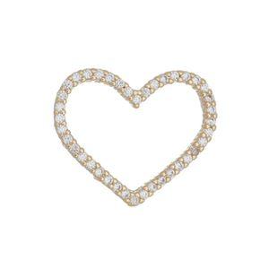 Imagem de Pingente coração com pedras zircônia - 0206445