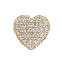 Imagem de Pingente coração com pedras zircônia - 0206430