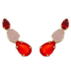 Imagem de Brinco ear cuff pedras zircônia - 0521288