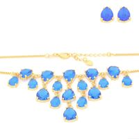 Imagem de Conjunto pedra natural azul - 1100715