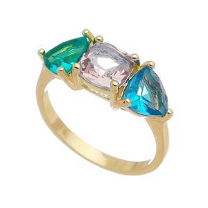 Imagem de Anel com pedras natural colorido - 0106374