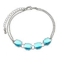Imagem de Pulseira fios pedras natural azul - 0404825