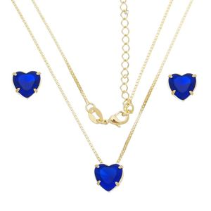 Imagem de Conjunto coração natural azul bic - 1100783