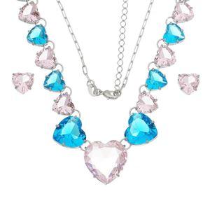 Imagem de Conjunto coração com pedras natural - 1100809