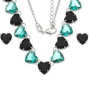 Imagem de Conjunto coração pedras natural - 1100819