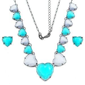 Imagem de Conjunto coração pedras natural - 1100821