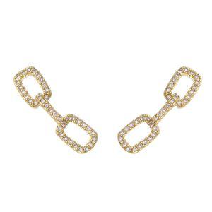 Imagem de Brinco ear cuff corrente com zircônia - 0521446